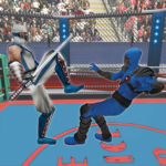 Real Robot Ninja Ring Fight Fighting Games 2020 MOD Unlimited Money