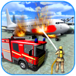 American Fire Fighter 2019 Airplane Rescue MOD Unlimited Money
