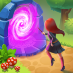 Charms of the Witch Magic Mystery Match 3 Games MOD Unlimited Money