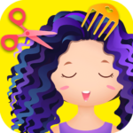 Hair salon games Hair styles and Hairdresser MOD Unlimited Money