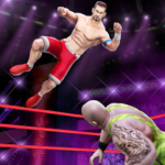 Cage Wrestling Games Ring Fighting Champions MOD Unlimited Money