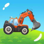 Build a House with Building Trucks Games for Kids MOD Unlimited Money