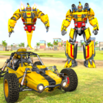 Flying Ghost Robot Car Game MOD Unlimited Money