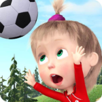 Masha and the Bear Football Games for kids MOD Unlimited Money