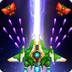 Galaxy Attack-space shooting games MOD Unlimited Money