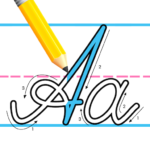 Kids Learn Cursive Writing – Cursive For Toddlers MOD Unlimited Money