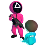 Pink Game Squid Fish Game MOD Unlimited Money
